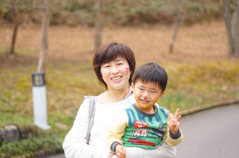 広島フェイスペイント組合-吉和魅惑の里-水仙まつり2017-016