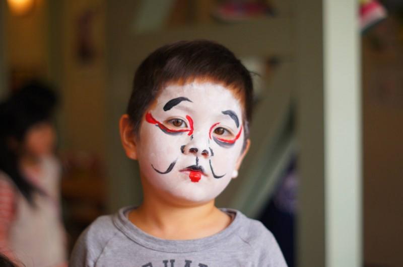 広島フェイスペイント組合-吉和魅惑の里-水仙まつり2017-021