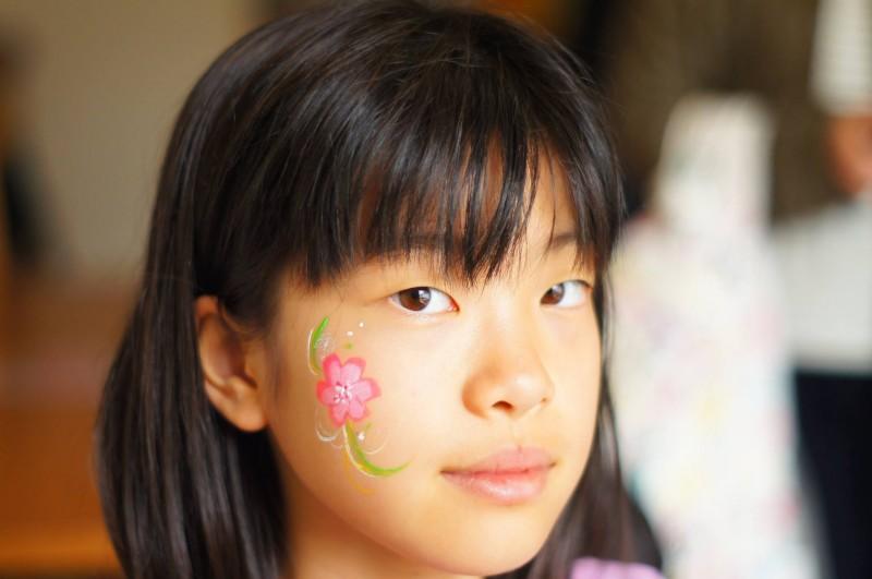 広島フェイスペイント組合-吉和魅惑の里-水仙まつり2017-026