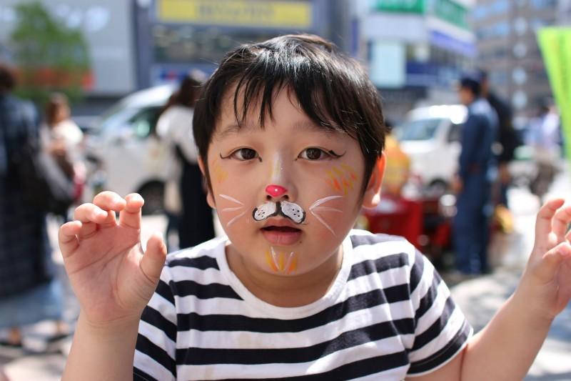 広島フェイスペイント組合-第22回横川ふしぎ市-002