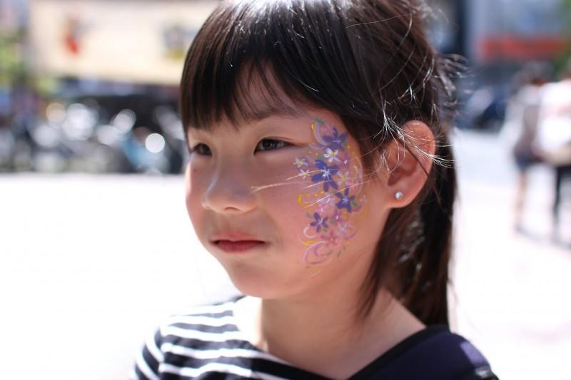 広島フェイスペイント組合-第22回横川ふしぎ市-016