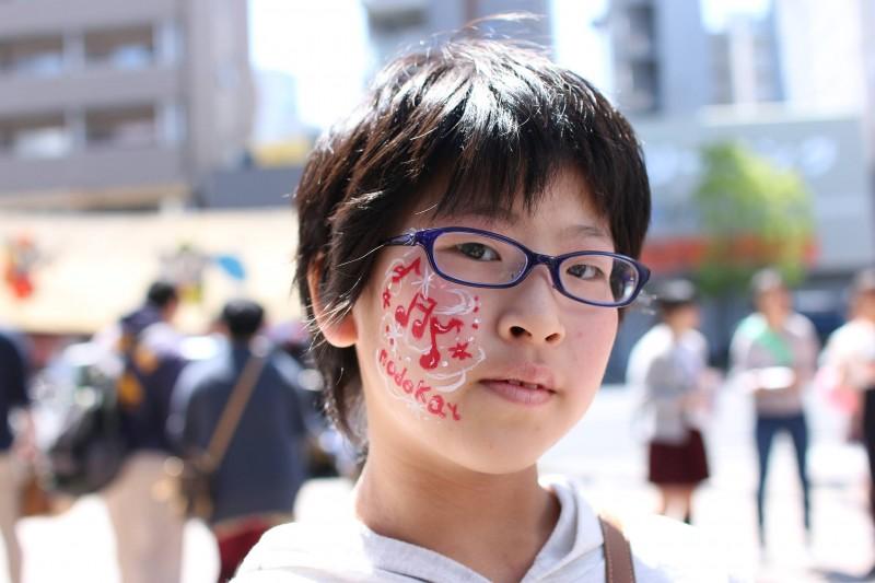 広島フェイスペイント組合-第22回横川ふしぎ市-017
