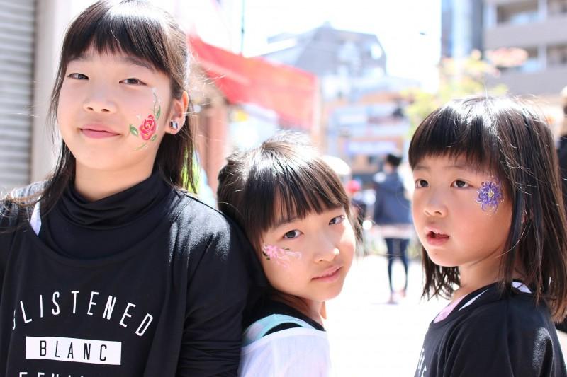 広島フェイスペイント組合-第22回横川ふしぎ市-025