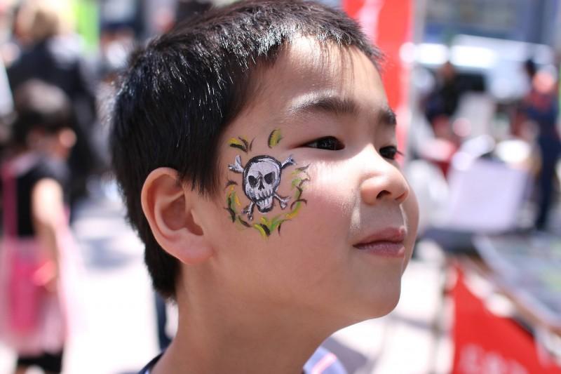 広島フェイスペイント組合-第22回横川ふしぎ市-042