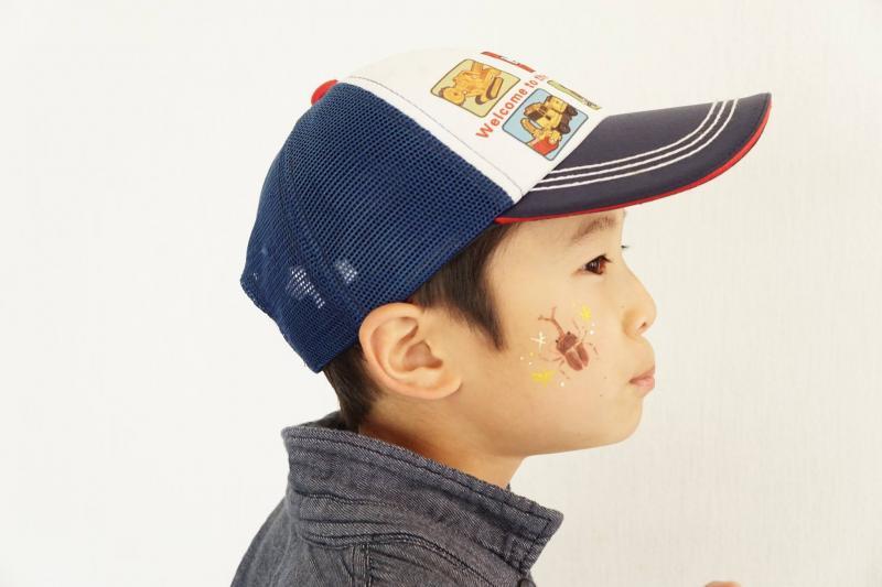 広島フェイスペイント組合-JA春の吉和を歩く-002
