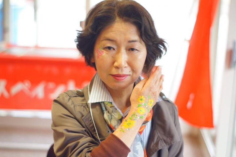 広島フェイスペイント組合-JA春の吉和を歩く-011