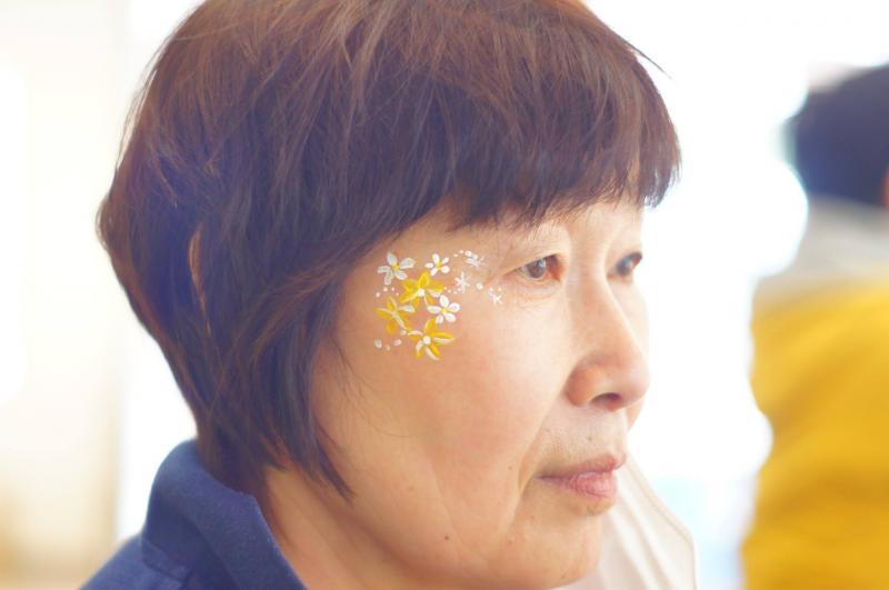 広島フェイスペイント組合-JA春の吉和を歩く-013