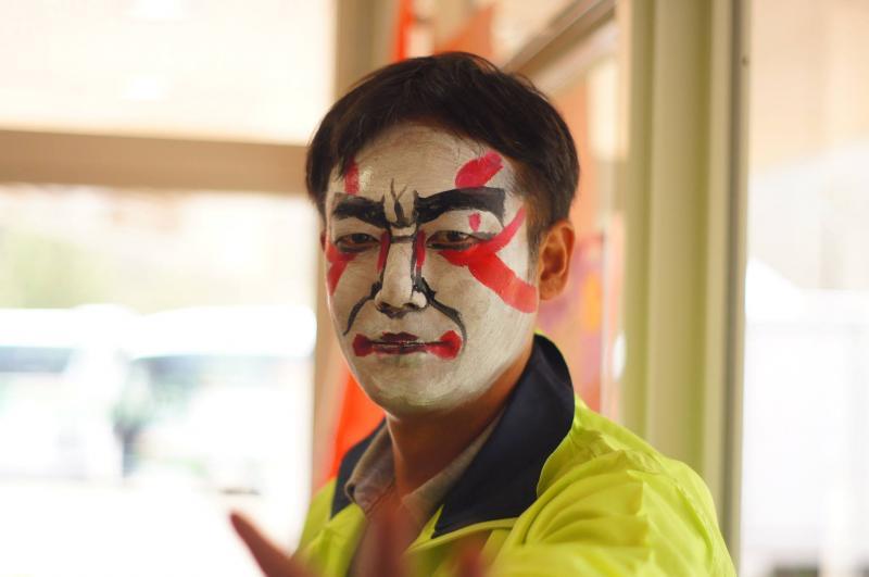 広島フェイスペイント組合-JA春の吉和を歩く-020