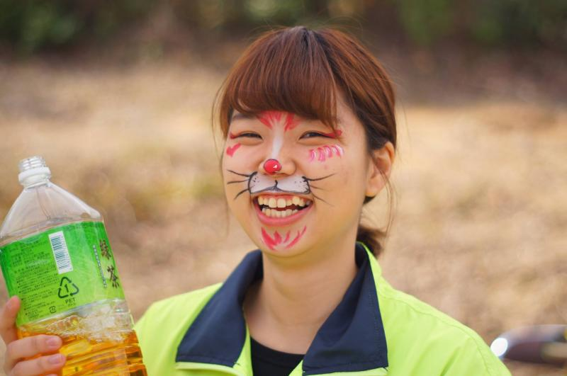 広島フェイスペイント組合-JA春の吉和を歩く-022