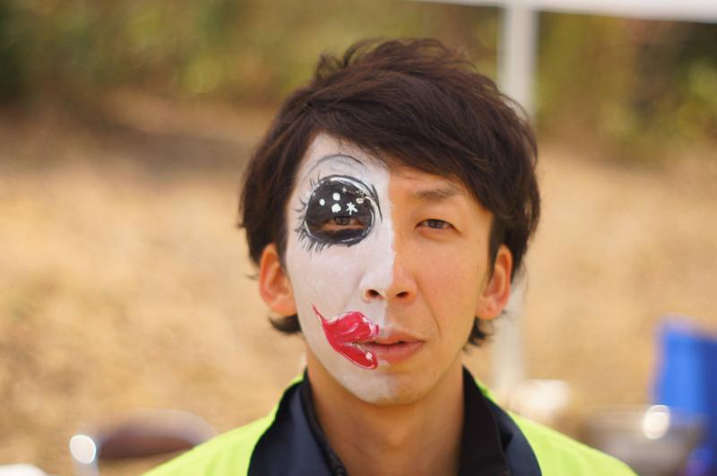 広島フェイスペイント組合-JA春の吉和を歩く-023