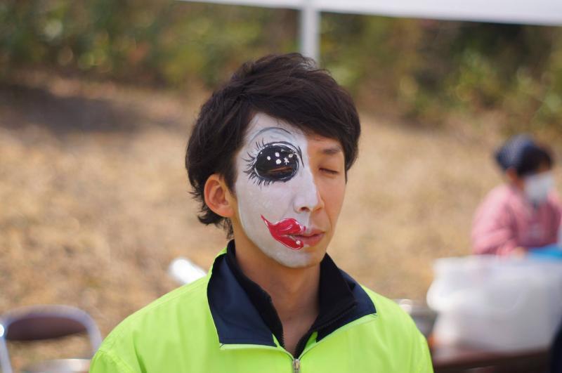 広島フェイスペイント組合-JA春の吉和を歩く-024