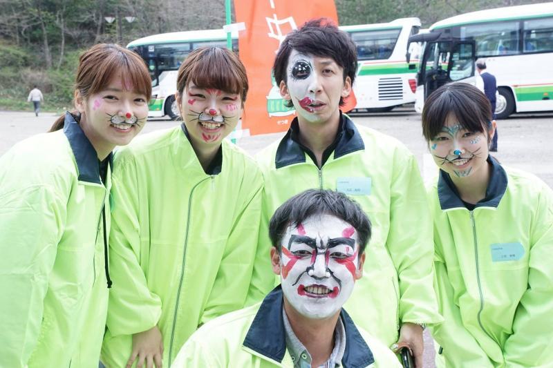 広島フェイスペイント組合-JA春の吉和を歩く-025