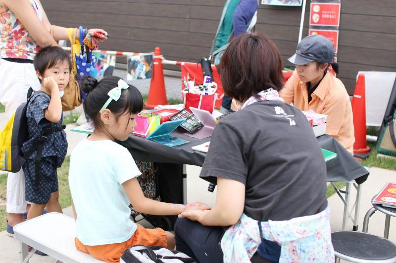 広島フェイスペイント組合-ひゅーるぽん夜市2017-005