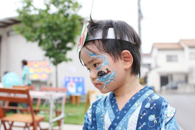広島フェイスペイント組合-ひゅーるぽん夜市2017-013