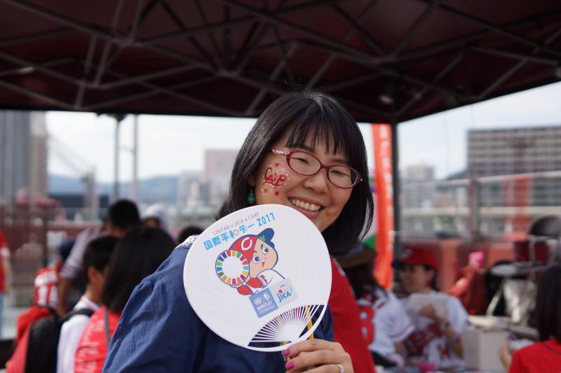 広島フェイスペイント組合-unitar-carp-jica-2017-0017