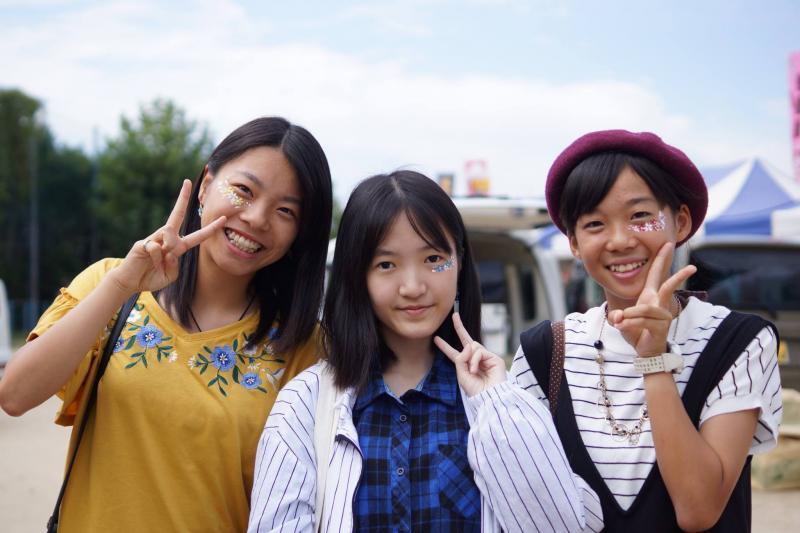 広島フェイスペイント組合-筆まつり-2017-007