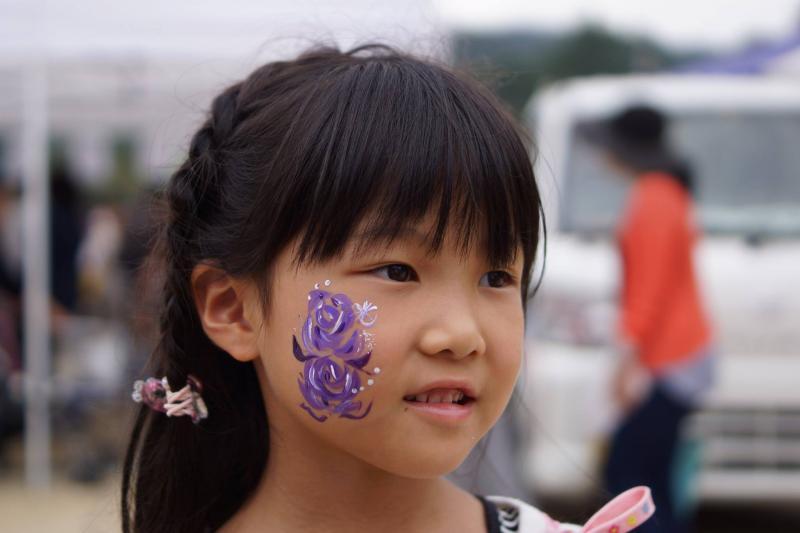 広島フェイスペイント組合-筆まつり-2017-030