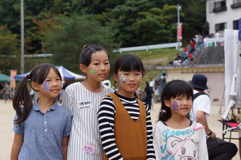 広島フェイスペイント組合-筆まつり-2017-032
