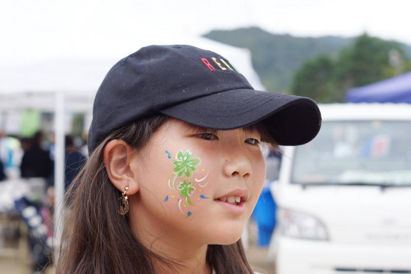 広島フェイスペイント組合-筆まつり-2017-035