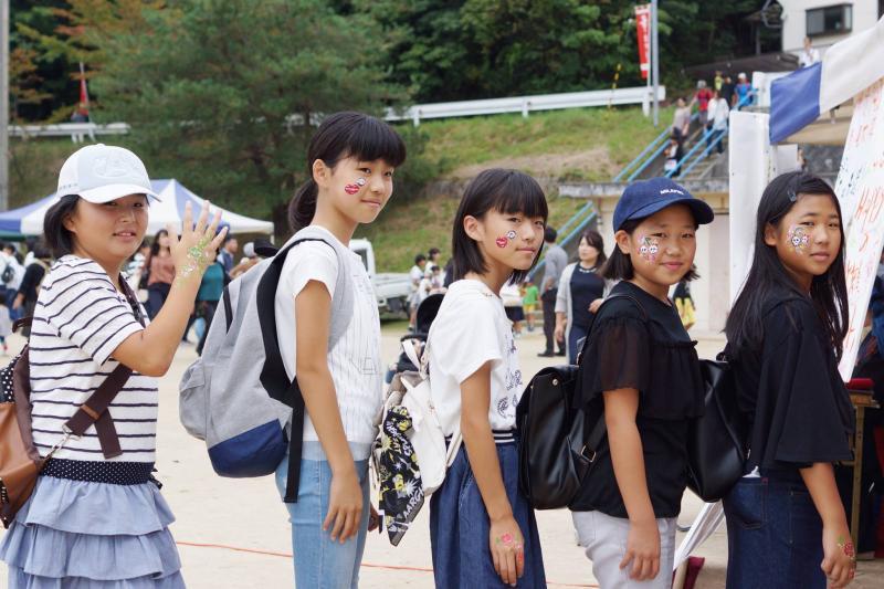 広島フェイスペイント組合-筆まつり-2017-039