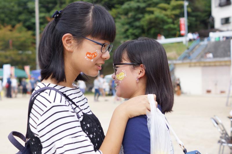 広島フェイスペイント組合-筆まつり-2017-045