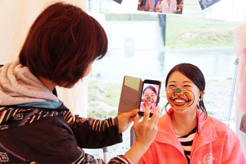 広島フェイスペイント組合-ハロウィンパーティ2017-こころ住宅展示場1007-001