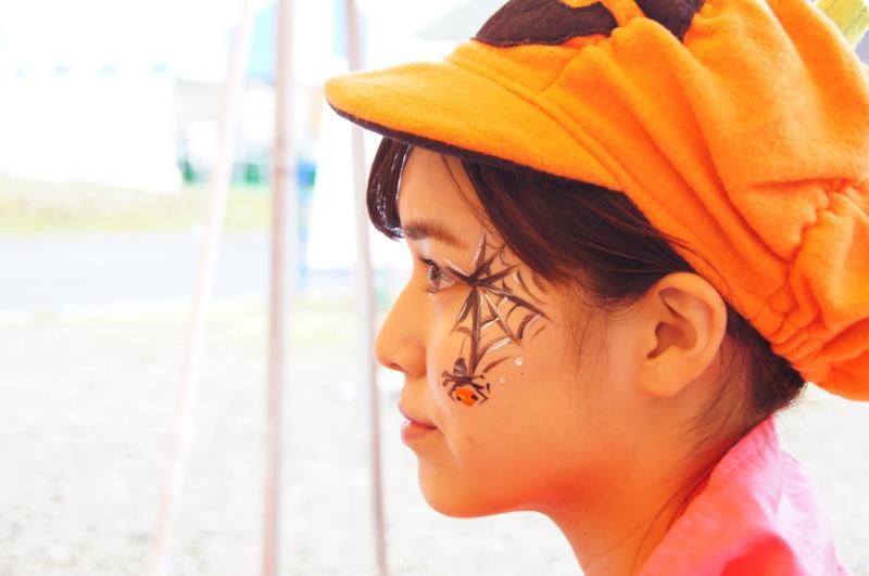 広島フェイスペイント組合-ハロウィンパーティ2017-こころ住宅展示場1007-002