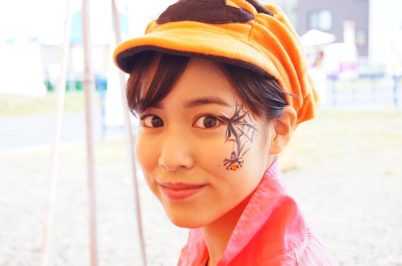 広島フェイスペイント組合-ハロウィンパーティ2017-こころ住宅展示場1007-003
