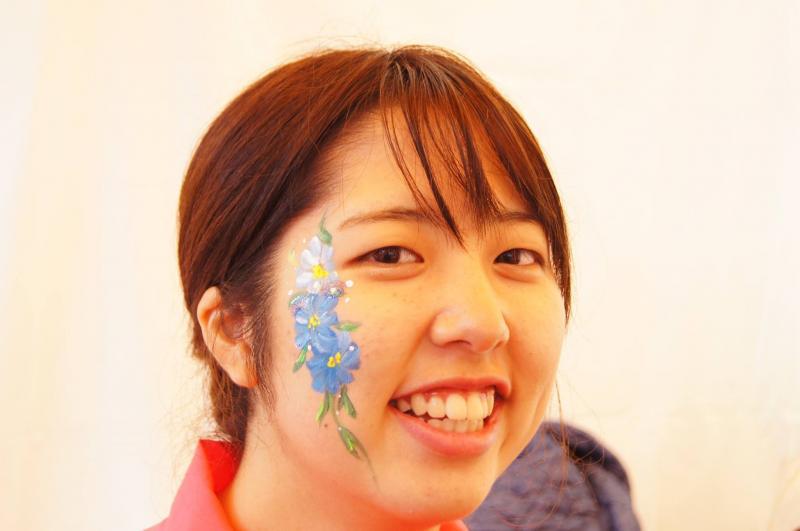 広島フェイスペイント組合-ハロウィンパーティ2017-こころ住宅展示場1007-006