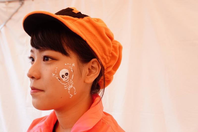 広島フェイスペイント組合-ハロウィンパーティ2017-こころ住宅展示場1007-007