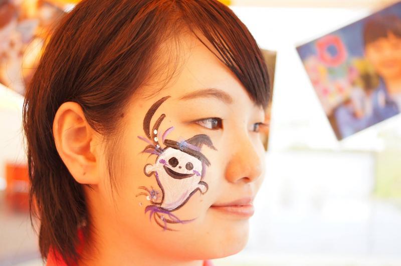広島フェイスペイント組合-ハロウィンパーティ2017-こころ住宅展示場1007-009