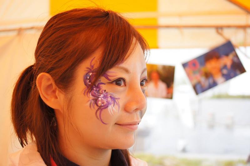 広島フェイスペイント組合-ハロウィンパーティ2017-こころ住宅展示場1007-011