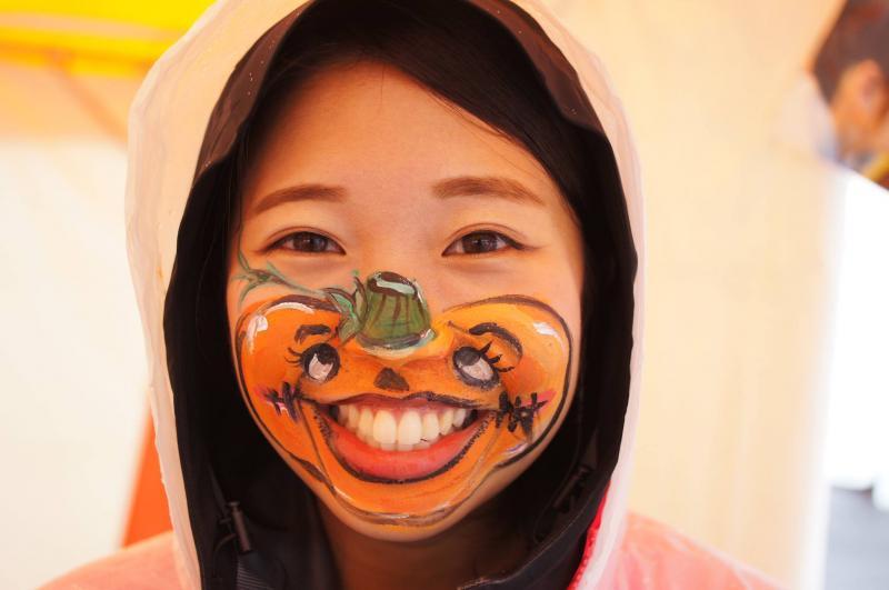 広島フェイスペイント組合-ハロウィンパーティ2017-こころ住宅展示場1007-014