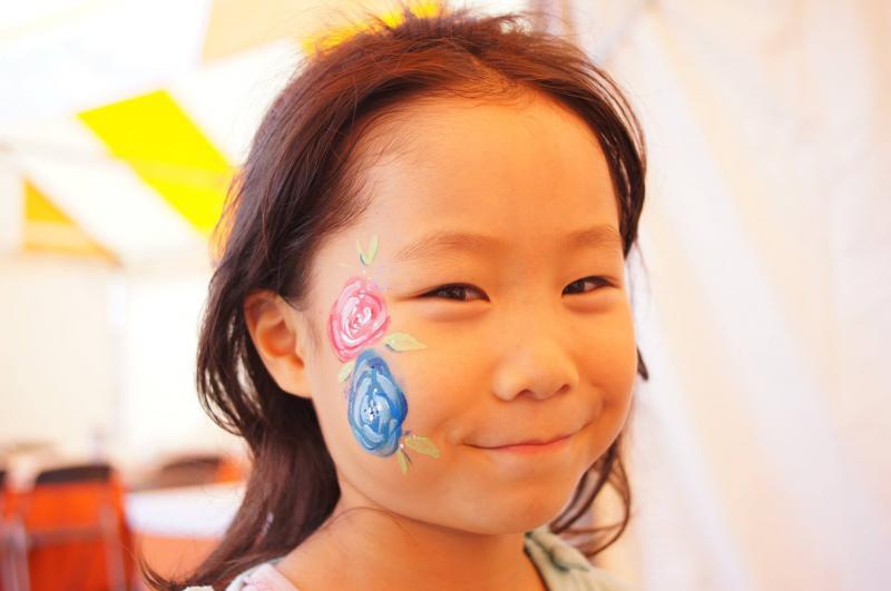 広島フェイスペイント組合-ハロウィンパーティ2017-こころ住宅展示場1007-017
