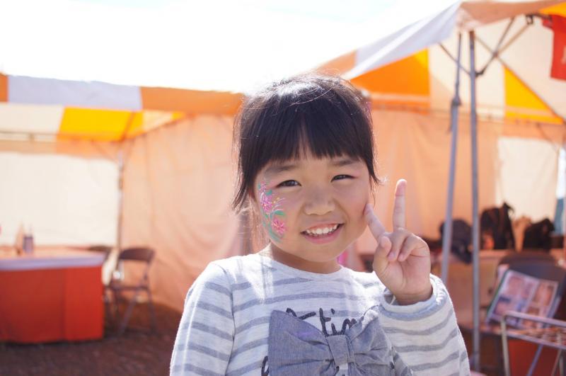 広島フェイスペイント組合-ハロウィンパーティ2017-こころ住宅展示場1007-018