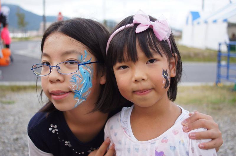 広島フェイスペイント組合-ハロウィンパーティ2017-こころ住宅展示場1007-026