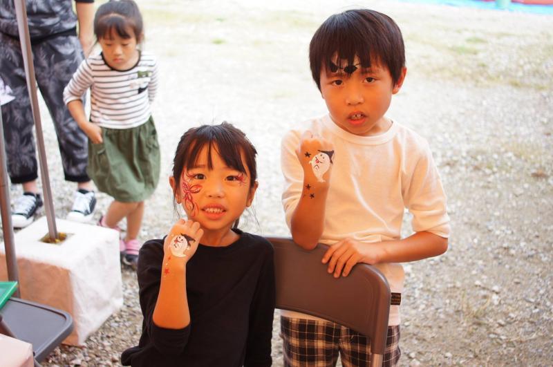 広島フェイスペイント組合-ハロウィンパーティ2017-こころ住宅展示場1007-029