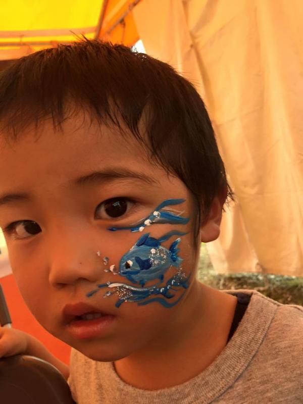 広島フェイスペイント組合-ハロウィンパーティ2017-こころ住宅展示場1007-030