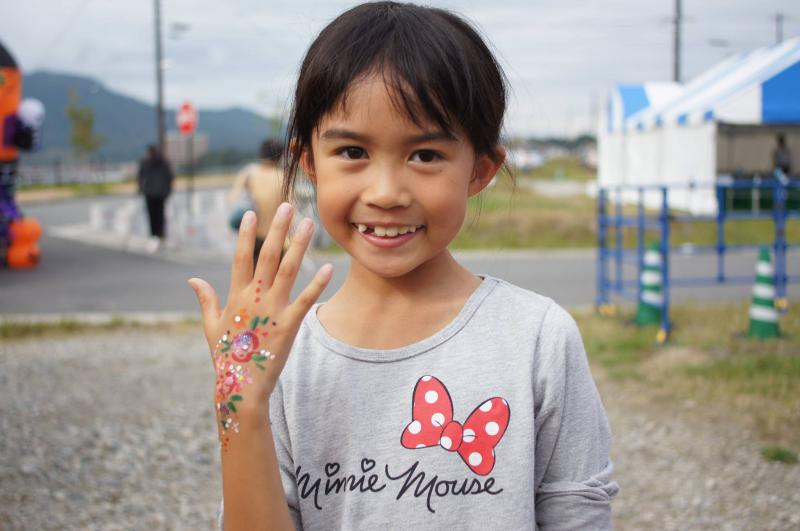広島フェイスペイント組合-ハロウィンパーティ2017-こころ住宅展示場1007-031