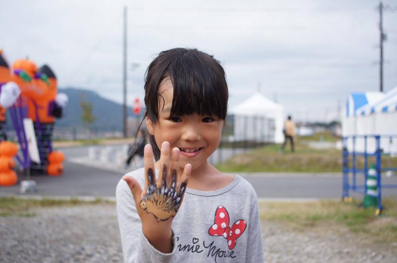 広島フェイスペイント組合-ハロウィンパーティ2017-こころ住宅展示場1007-032