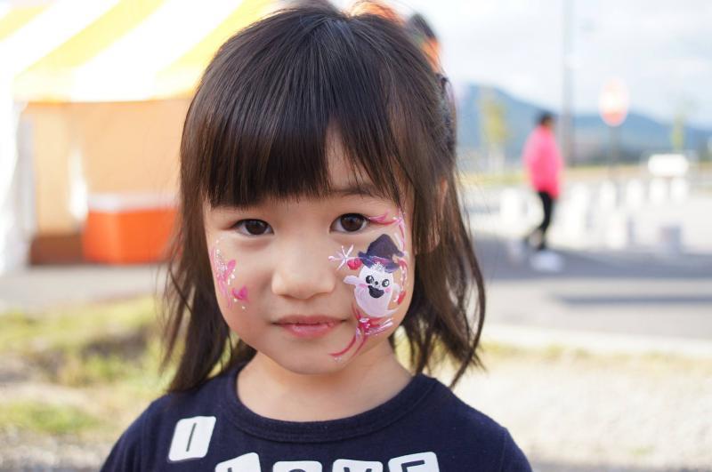 広島フェイスペイント組合-ハロウィンパーティ2017-こころ住宅展示場1007-045