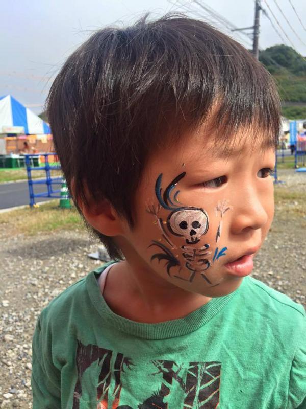 広島フェイスペイント組合-ハロウィンパーティ2017-こころ住宅展示場1007-048