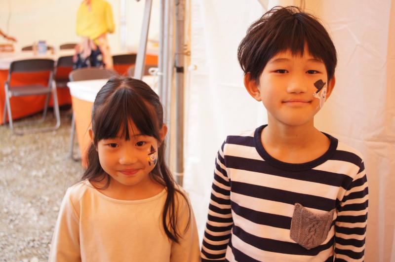 広島フェイスペイント組合-ハロウィンパーティ2017-こころ住宅展示場10080001