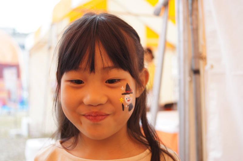 広島フェイスペイント組合-ハロウィンパーティ2017-こころ住宅展示場10080002