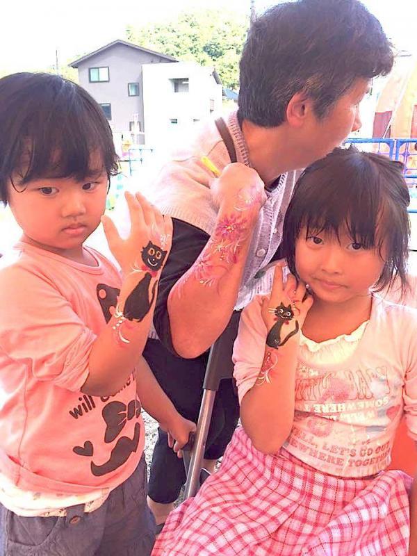 広島フェイスペイント組合-ハロウィンパーティ2017-こころ住宅展示場10080009