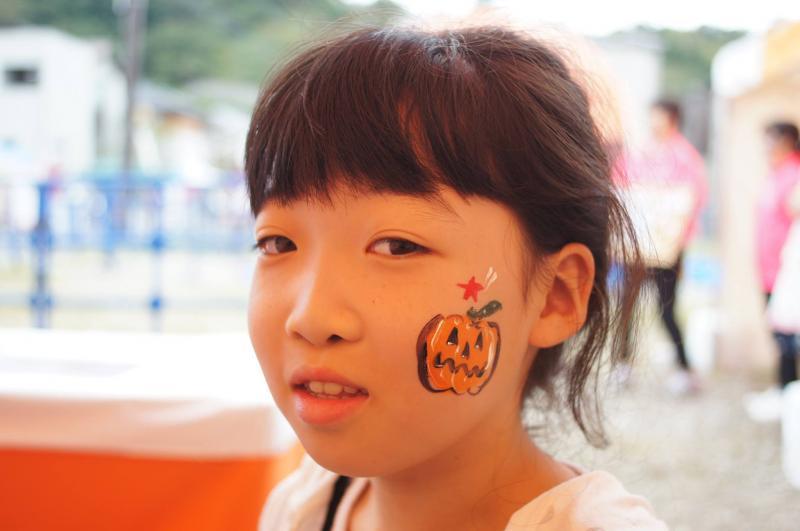 広島フェイスペイント組合-ハロウィンパーティ2017-こころ住宅展示場10080010
