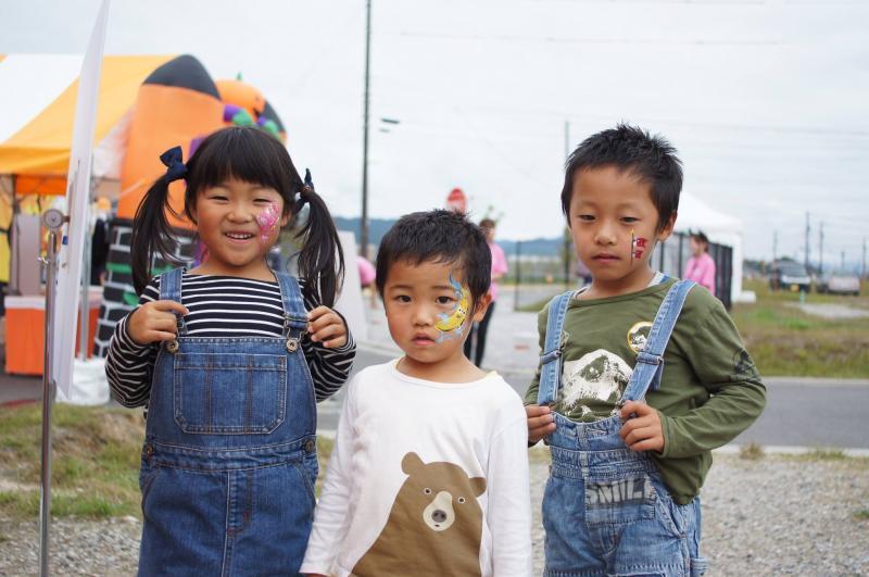 広島フェイスペイント組合-ハロウィンパーティ2017-こころ住宅展示場10080012