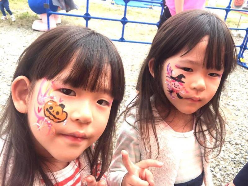 広島フェイスペイント組合-ハロウィンパーティ2017-こころ住宅展示場10080018