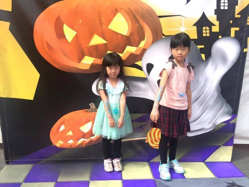 広島フェイスペイント組合-ハロウィンパーティ2017-こころ住宅展示場10080022