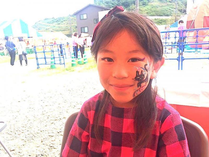 広島フェイスペイント組合-ハロウィンパーティ2017-こころ住宅展示場10080023